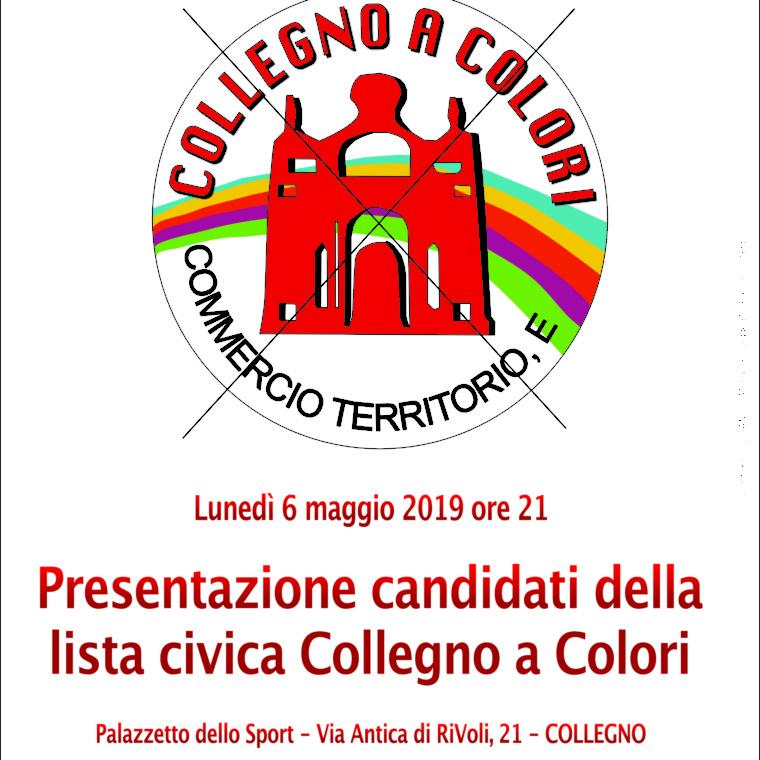 Presentazione candidati lista civica collegno a colori